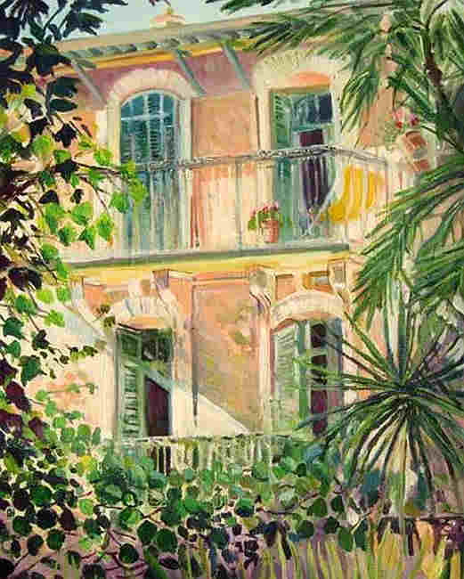 House  at Le Cannt by Linda Nissen-Samuels